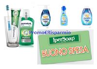 Logo Con Unilever prova a vincere un Buono per la tua Spesa da Ipersoap