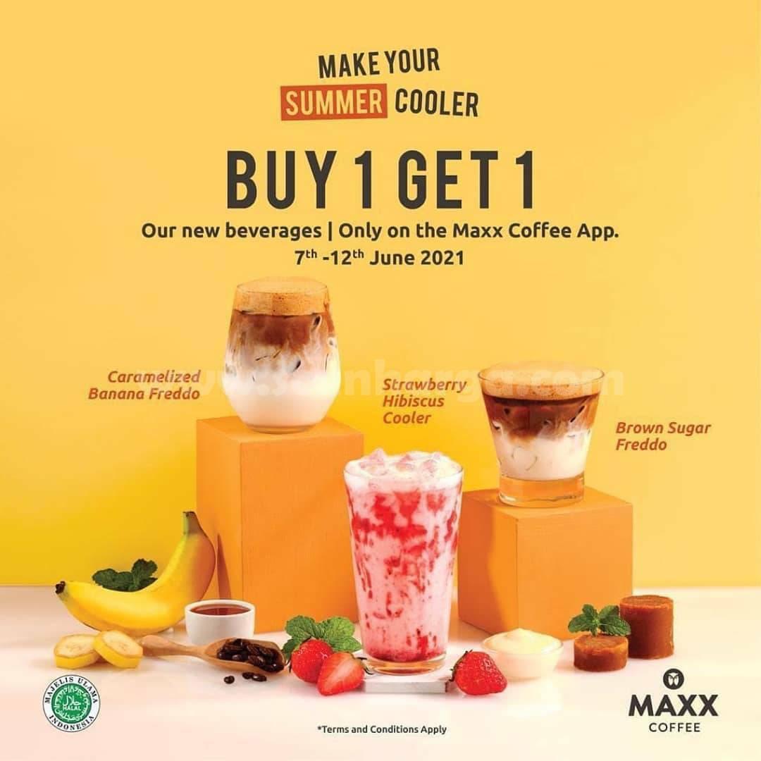 Promo Maxx Coffee Terbaru Periode 7 - 12 Juni 2021