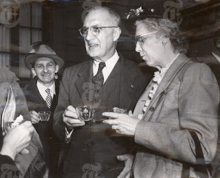 William Carlos Williams with his Wife, Florence (Flossie)