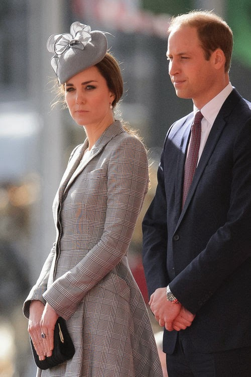 Because Kate: Prince William has really bad mood