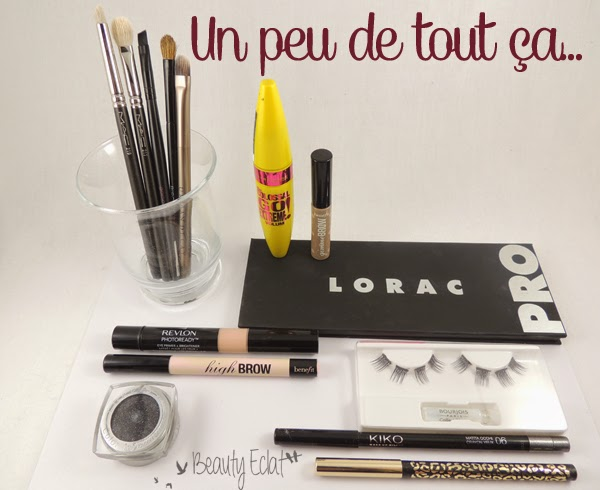 tutoriel maquillage smoky noir gris