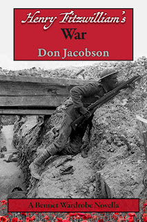 Book cover: Henry Fitzwilliam's War by Don Jacobson