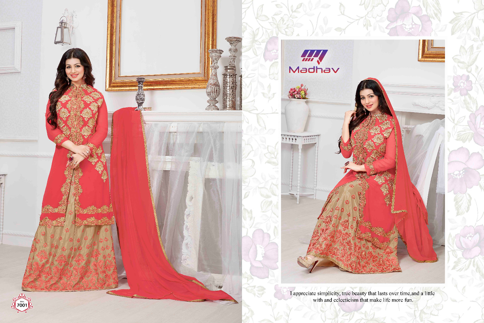 Embllish – Ayesha Takia Georgette Latest New Stylish Salwar Suit