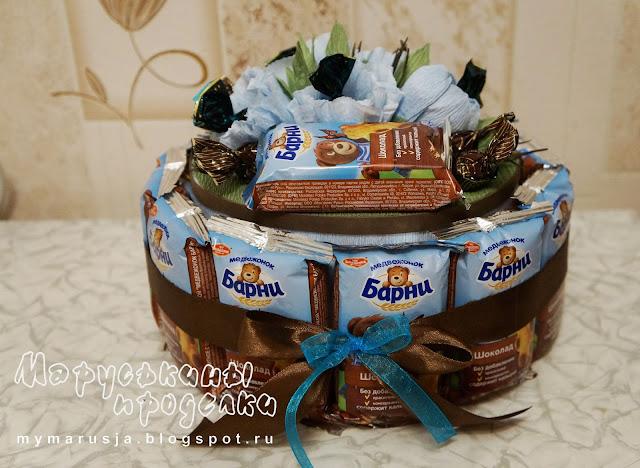 торт на детский праздник в садик
