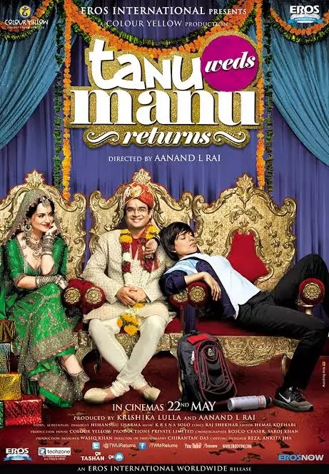 Tanu Weds Manu Returns (2015) Hindi HD Movie 480p 720p
