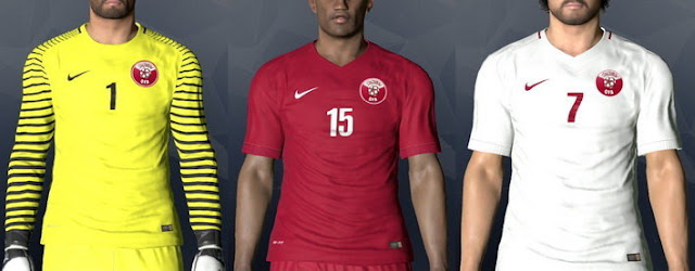 Qatar World Cup Kit 2017-2018 PES 2017
