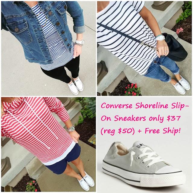 Converse Shoreline Ox Slip-On Sneaker $37 (reg $50)