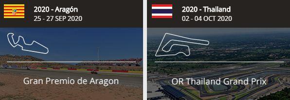 MotoGP Aragon dan Thailand 2020