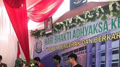 Hari Bhakti Adhyaksa Ke-60, Anggota Humas Polres Sinjai Raih Juara I Lomba Foto