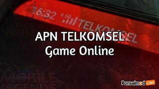 APN Telkomsel Game Online 2021, diJamin Lancar dan Anti Lag