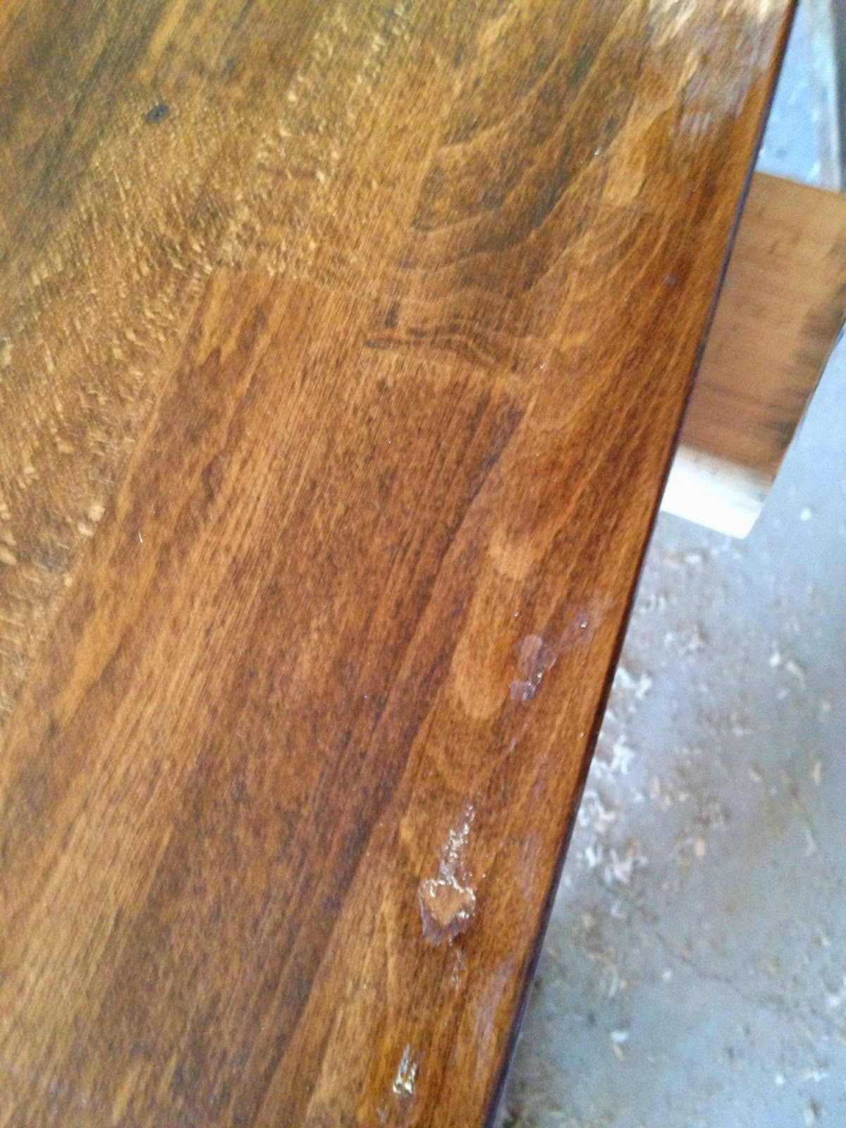 Using Waterlox Over Stain