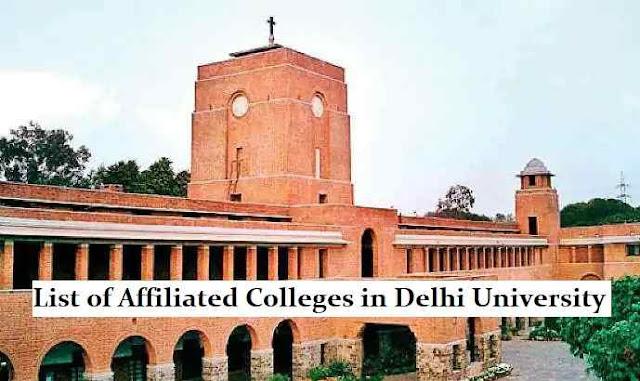 Delhi University Affiliated Colleges