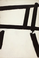 Franz Kline - Formas blancas (1955)