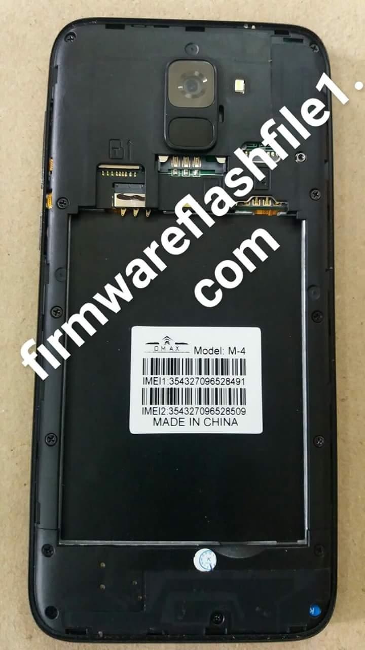 Omax M-4 Flash File