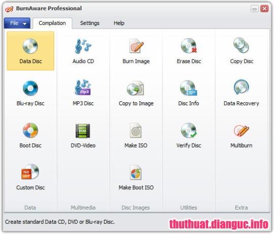 Download BurnAware Professional 11.7 Full Cr@ck + Portable