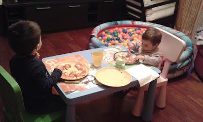 tizi e alice giovedì pizza