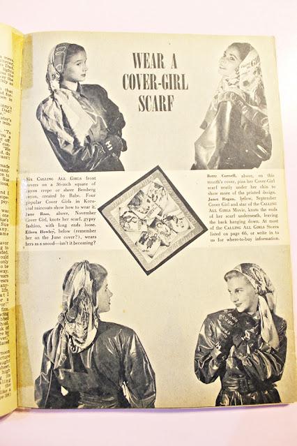 1940s teen fashion magazine