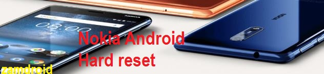 Nokia 3 android Hard Reset