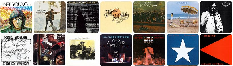 Neil Young Official Release Series Discs 1-14 Pono