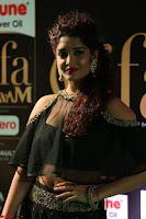 Ritika Singh in a Ethnic Deep Neck Dark Green Choli Ghagra at IIFA Utsavam Awards March 2017 ~ 035.JPG