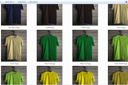 Mockup Kaos polos Siap download dan Edit