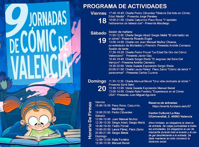 9ª Jornadas de Cómic de Valencia