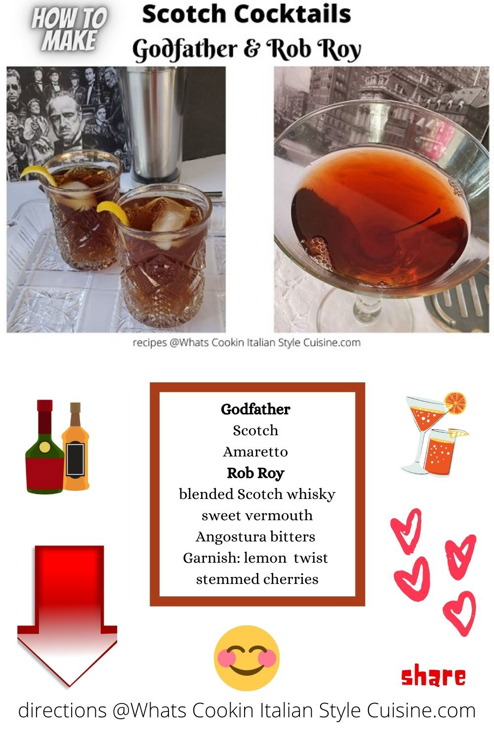 pin for later how to use scotch in cocktails