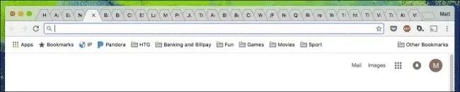 أغلق علامات تبويب Chrome