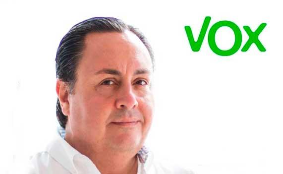 El presidente de VOX Las Palmas de  Gran Canaria, Ricardo Breña, expulsado de la formación política