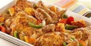 صينيه دجاج بالخضار
