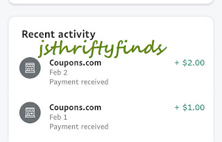 jsthriftyfinds - Coupons.com payouts