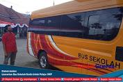 Dishub Jember Luncurkan Bus Sekolah Gratis Untuk Pelajar SMP