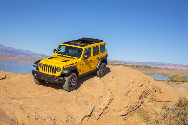 "Jeep Wrangler Rubicon EcoDiesel Named FOUR WHEELER ""2020 SUV of the Year"""