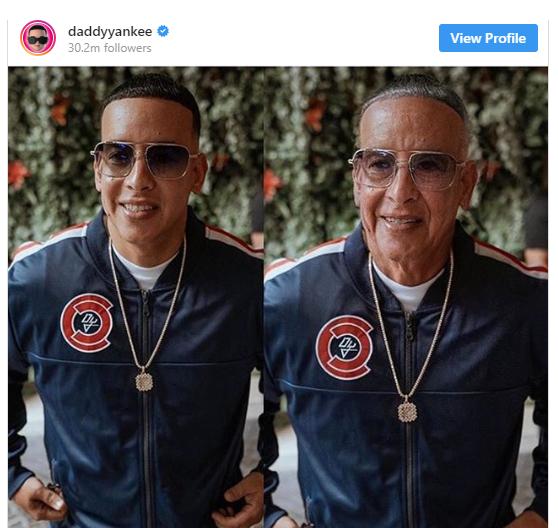 Daddy Yankee FaceApp