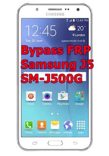 Bypass FRP Samsung J5