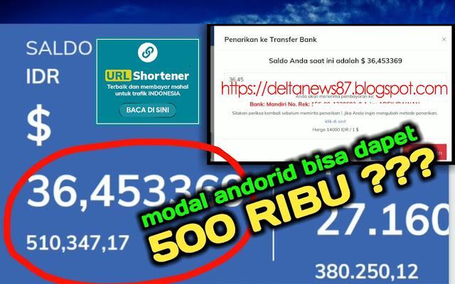 URL Shortener Terbaik dan Membayar Termahal - Delta News