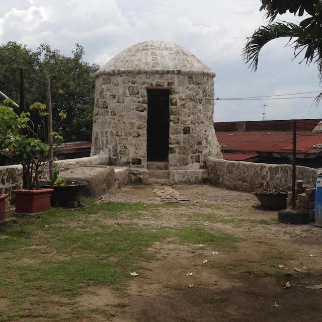 One of three bastions at Fort San Pedro in Cebu City