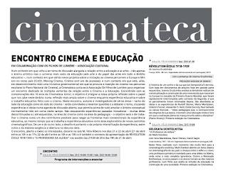 Encontro Cinema e Educação @ Cinemateca Portuguesa