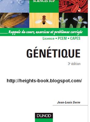Télécharger Livre Gratuit Génétique Rappels de cours exercices et problèmes corrigés pdf
