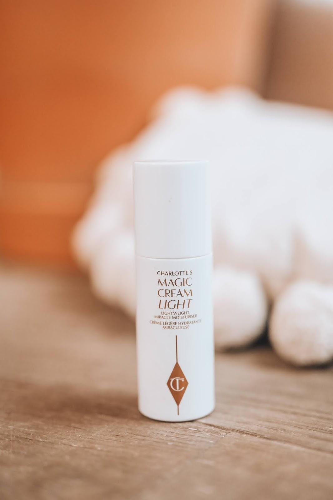 Charlotte tilbury magic cream light moisturiser review