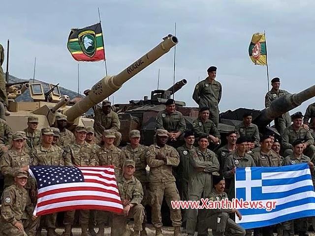 Ξάνθη: Η ελληνική ψυχή νίκησε τα Αμερικανικά M1A2 ABRAMS στο Πετροχώρι (10 ΦΩΤΟ-ΒΙΝΤΕΟ)