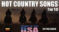 Billboard Top 10 Hot Country Songs (USA) | October 31, 2020 Playlist