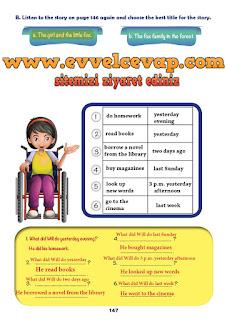 6. Sınıf İngilizce Ders Kitabı Cevapları MONOPOL Yayınları Sayfa 147