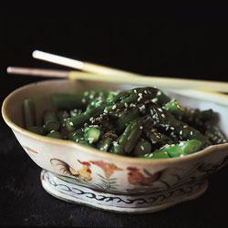 Asparagus Shandong-Style (Liang Ban Lu-Sun)