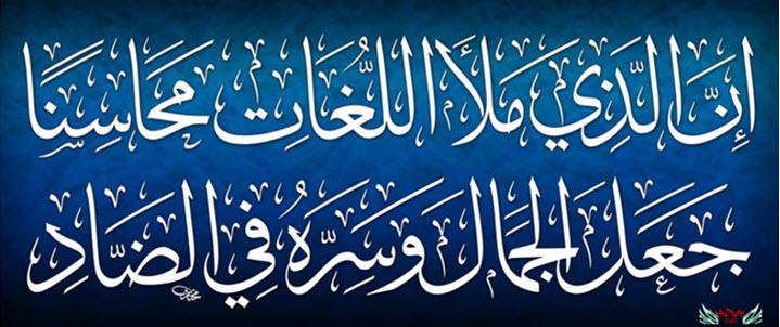 لا تلوموا العربية ولوموا أمة ركضت إلى الدعة - قبح الله الدعة - ثم قعدت