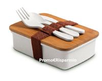 """""""Il Buono del Pulito"""" : con Finish, Sole, Air Wick, Napisan, Calgon, Vanish in omaggio lunch box in bamboo ( regalo sicuro)"""