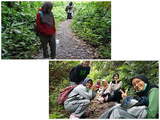 Perjalanan mendaki Bukit Kaba
