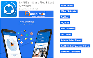Shareall - Share files & send anywhere - Indian app alternative for shareit - Chinese banned app