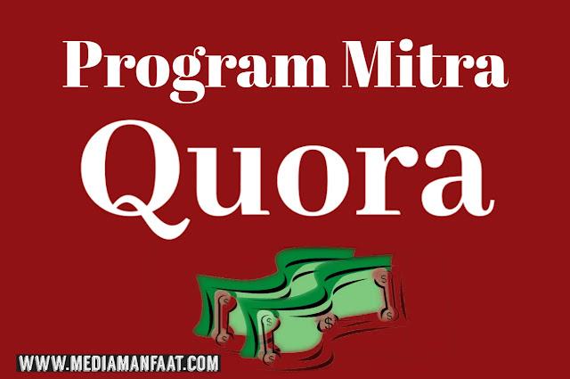 Program Mitra Quora: Hanya Modal Bertanya Dapat Menghasilkan Uang Dollar dari Quora