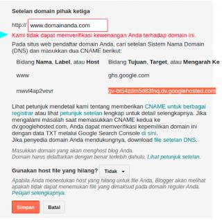 Panduan Hostinger, Cara Mudah Menghubungkan Domain Blogspot Ke Hostinger